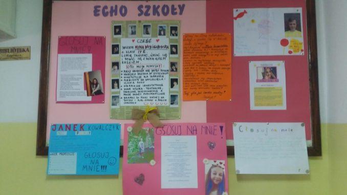 Wybory Na Przewodniczącego Samorządu Szkolnego Szkoła