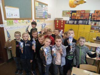 Dzień Chłopaka w klasie 3 c-zdjęcie grupowe.
