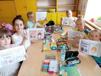 Uczniowie 3c i ich prace