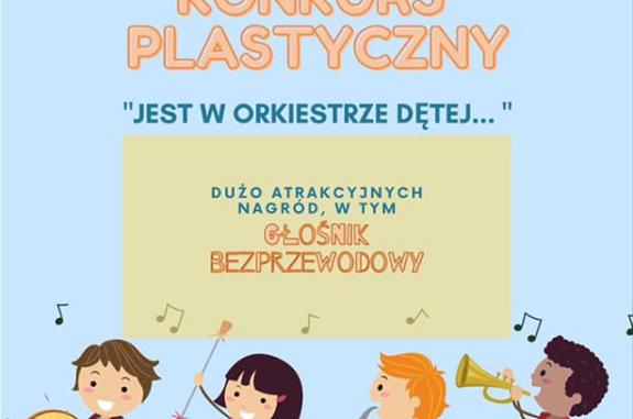 Plakat konkursy Orkiestry Dętej