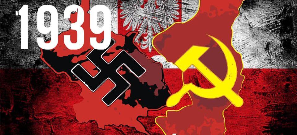 Plakat Sowiecka napasć na Polskę