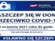 Plakat szczepienia Covid