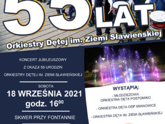 Plakat Orkiestry Dętej