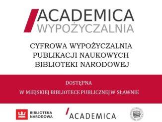Plakat Akademica Wypożyczalnia